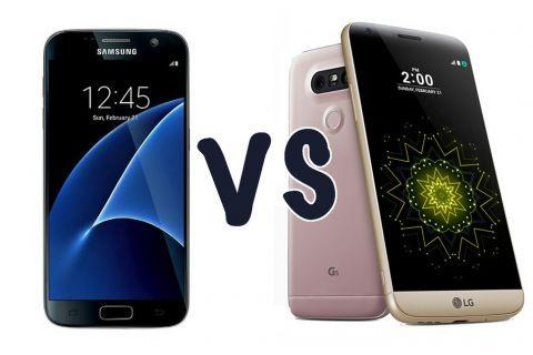 LG G5 vs Samsung Galaxy S7: Özellikleri ön karşılaştırma