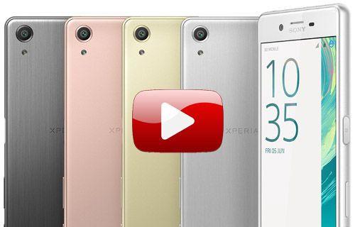 Sony Xperia X Performance ön inceleme (Video)