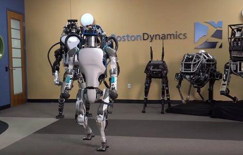 Bilim kurgu gerçeğe dönüşüyor: Atlas robot son haliyle karşınızda