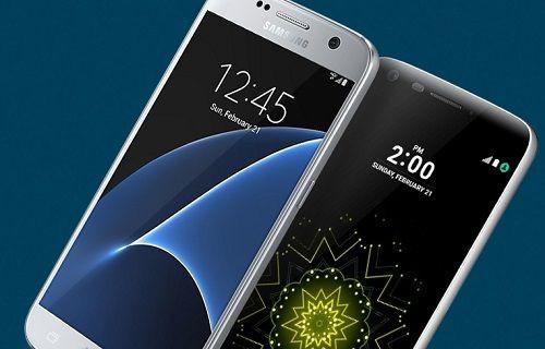 LG, G5 ile Galaxy S7'yi karşılaştırdı