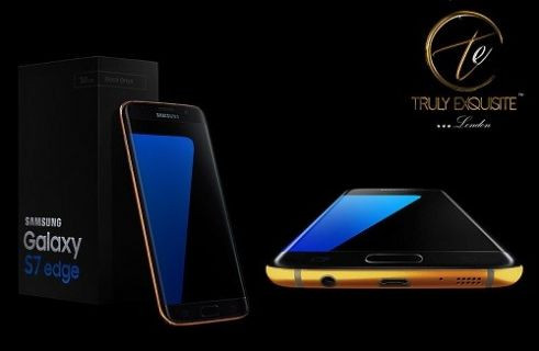 Altından yapılmış Galaxy S7 ve Galaxy S7 Edge ile tanışın!