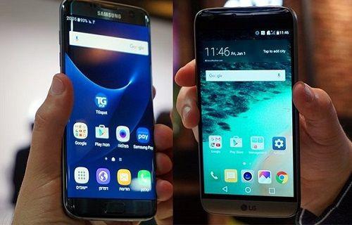 LG G5 Hızlı Şarj 3.0 desteğine sahip, Galaxy S7 ise...