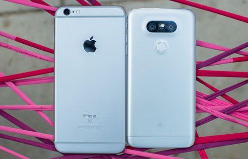 LG G5'in bu özellikleri iPhone 6S'de yok!