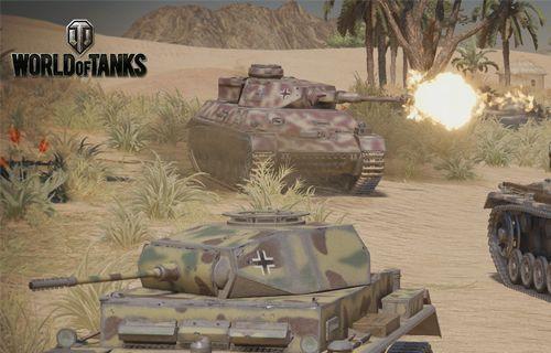 World of Tanks Wolfpack güncellemesi PS4 platformunda