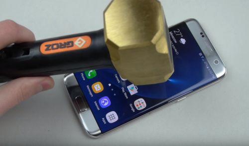 Samsung Galaxy S7 Edge işkence testi (Video)