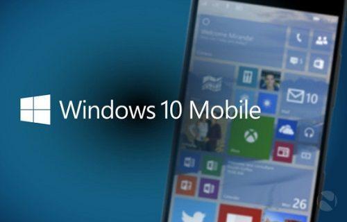 Windows 10 Mobile Yeni Modeller İçin Dağıtıma Sunuluyor