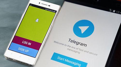 Instagram, Snapchat ve Telegram'ı Engelledi