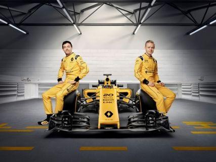 Renault'un Formula 1 Takım Renkleri Belli Oldu