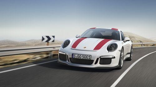 Porsche 'den Kuzu Görünümünde Kurt 911 R