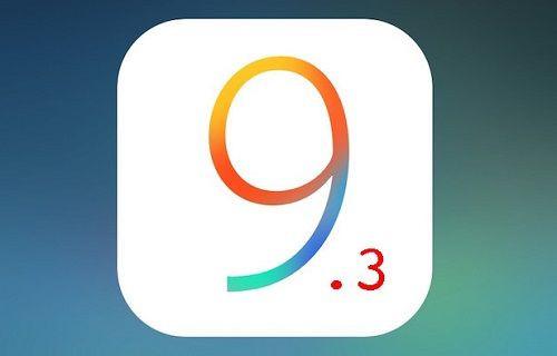 iOS 9.3 güncellemesi dağıtıma sunuldu
