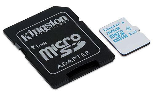 Kingston'dan Aksiyon Kameralar İçin microSD Kart!