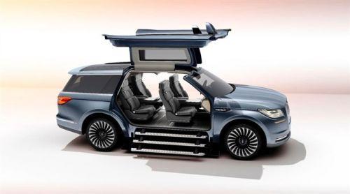 Lincoln'un yeni konsept otomobili kanatları ile büyüledi!