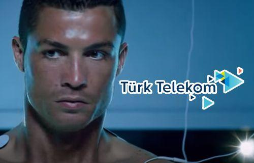 Ronaldo Türk Telekom'un reklam yüzü olacak