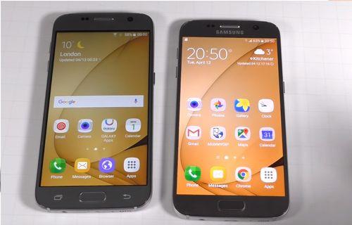 Çakma Galaxy S7 vs Gerçek Galaxy S7 Karşı Karşıya
