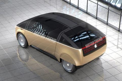 Apple'ın üzerinde çalıştığı otomobili görüntülendi!