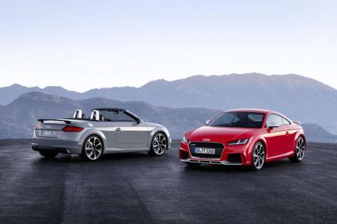 İşte yeni Audi TT RS Coupe ve Roadster otomobiller! (Video)