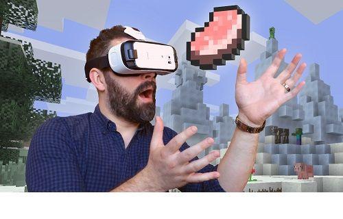 Minecraft Gear VR sürümü yayınlandı