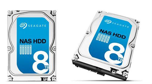 Seagate, 8 TB'lık Nas diskini satışa sundu