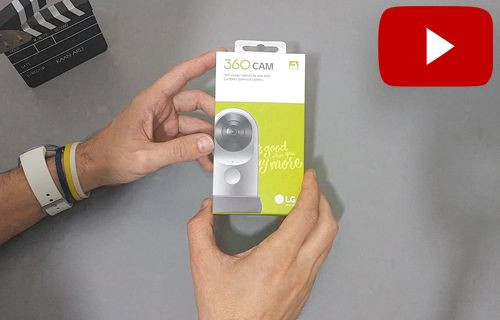LG 360 Cam kutu açma videosu