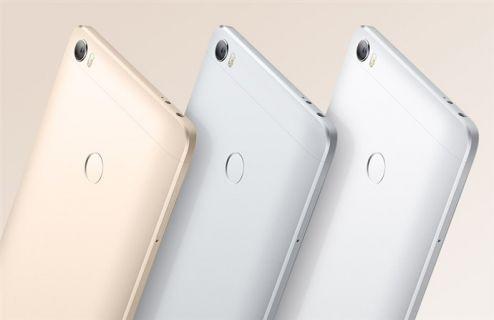 En büyük telefon Xiaomi Mi Max resmen tanıtıldı