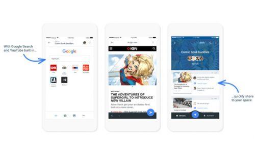 Google'dan yeni uygulama: Spaces
