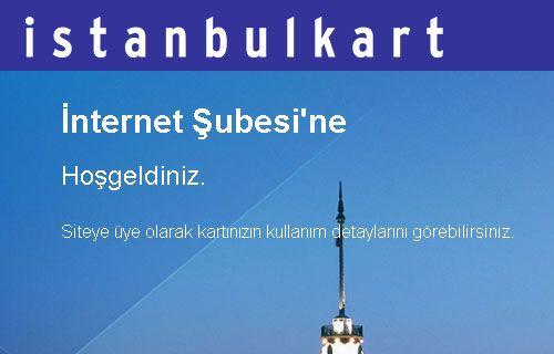 İstanbulkart üyelik sistemi açıldı!