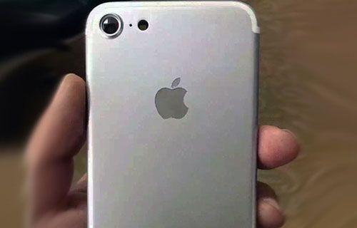 Bu görüntü iPhone 7'nin ilk gerçek resmi olabilir