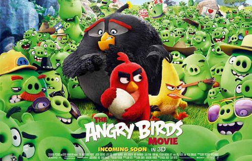 Angry Birds filmi uçuşa geçti