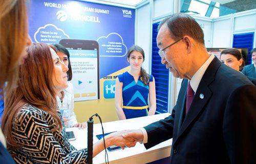 Ban Ki-moon'dan Turkcell'e övgü