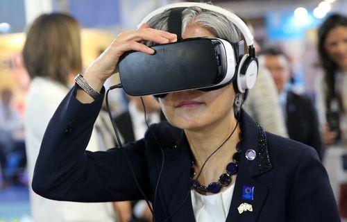 Samsung VR  Dünya İnsani Zirvesi'nde