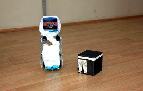Bingöllü öğrenciler hacı robot yaptı :)