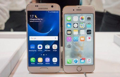Galaxy S7 ve iPhone 6S sağlamlık testinde kapışıyor (Video)