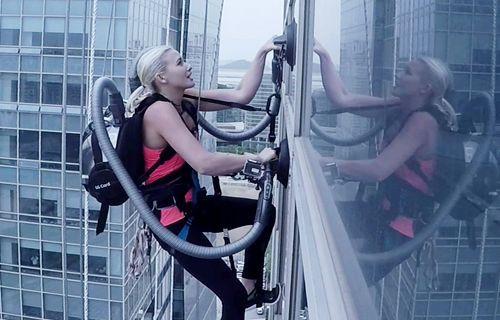 LG CordZero Gökdelen Tırmanışı Rekor Denemesi