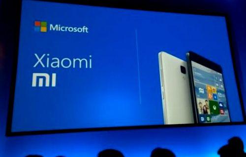 Xiaomi ve Microsoft'tan ortaklık kararı...