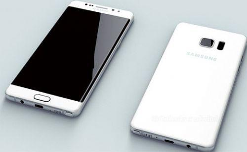 Samsung Galaxy Note 6 Edge'in ilk görüntüsü