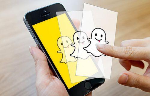 Snapchat'te selfieleriniz 3 boyutlu çıkacak.