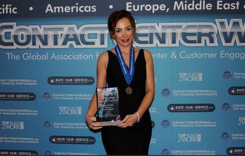 Turkcell Global Bilgi'ye EMEA'dan bir birincilik daha
