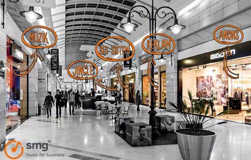 Alışveriş merkezleri SMG'yi tercih ediyor