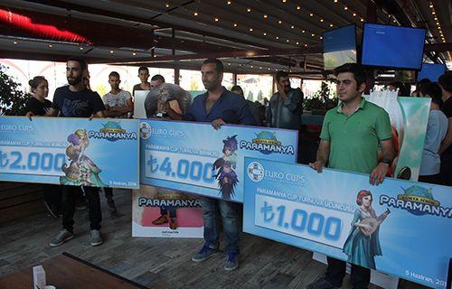 Paramanya 7.000 TL dağıttı