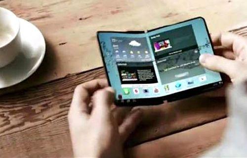 Samsung katlanabilir telefonunu 2017'de çıkarabilir