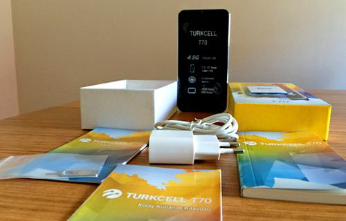 Turkcell T70 - Kutu açılışı