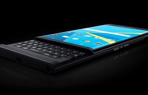 Android'li Priv de,BlackBerry'yi ayağa kaldıramadı!