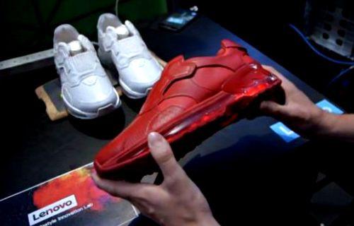 Lenovo'dan 'akıllı ayakkabı'