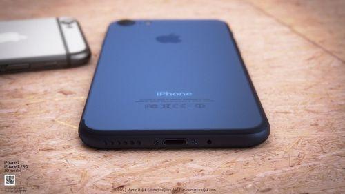 iPhone 7 yeni rengiyle böyle görünecek!