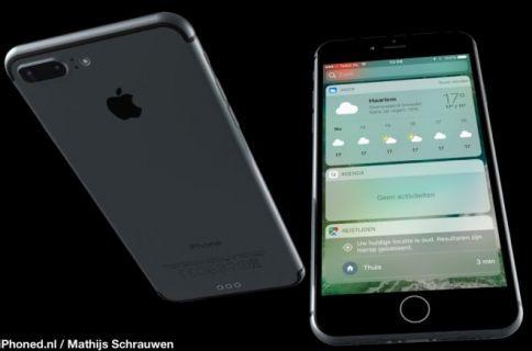 İşte iOS 10 ile iPhone 7!