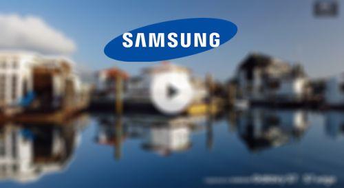 Samsung'tan iPhone'a videolu gönderme