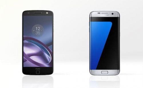 Samsung Galaxy S7 Edge vs Motorola Moto Z karşılaştırma