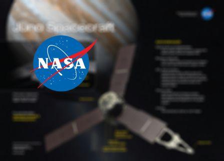 NASA'nın uzay aracı Juno 4 Temmuz'da Jüpiter'e varıyor