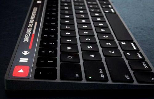 Apple klavyesine Dokunmatik OLED ekran