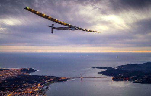 Solar Impulse 2 Atlantik'i geçti